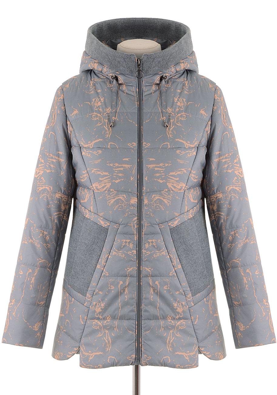Удлиненная куртка NIA-9006