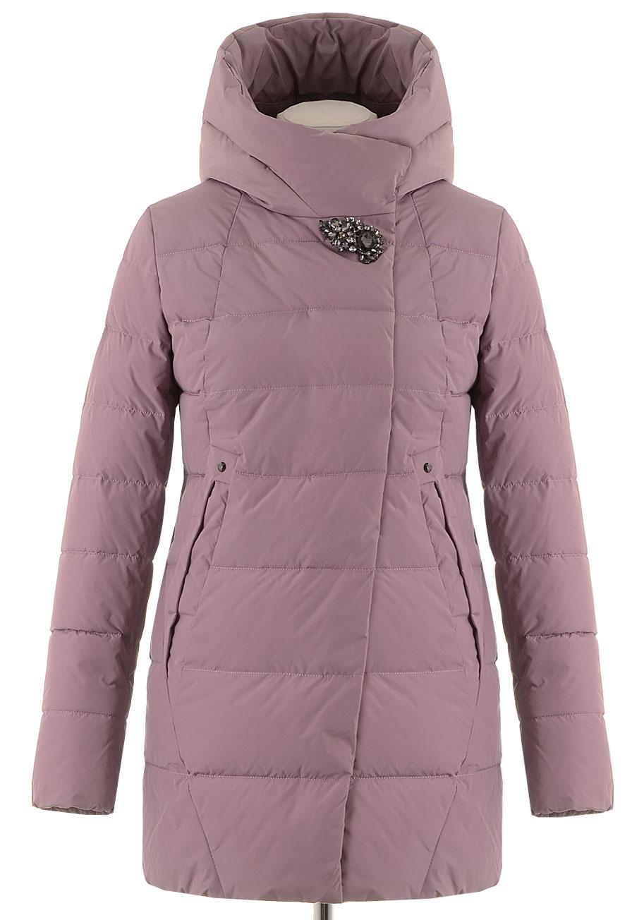 Удлиненная зимняя куртка HLZ-1852