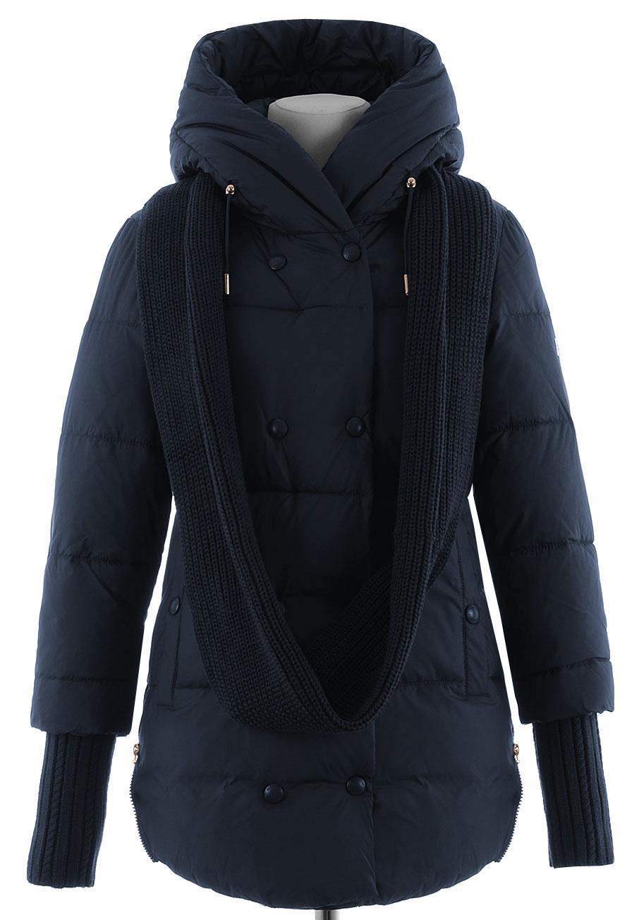 Зимняя удлиненная куртка DB-679