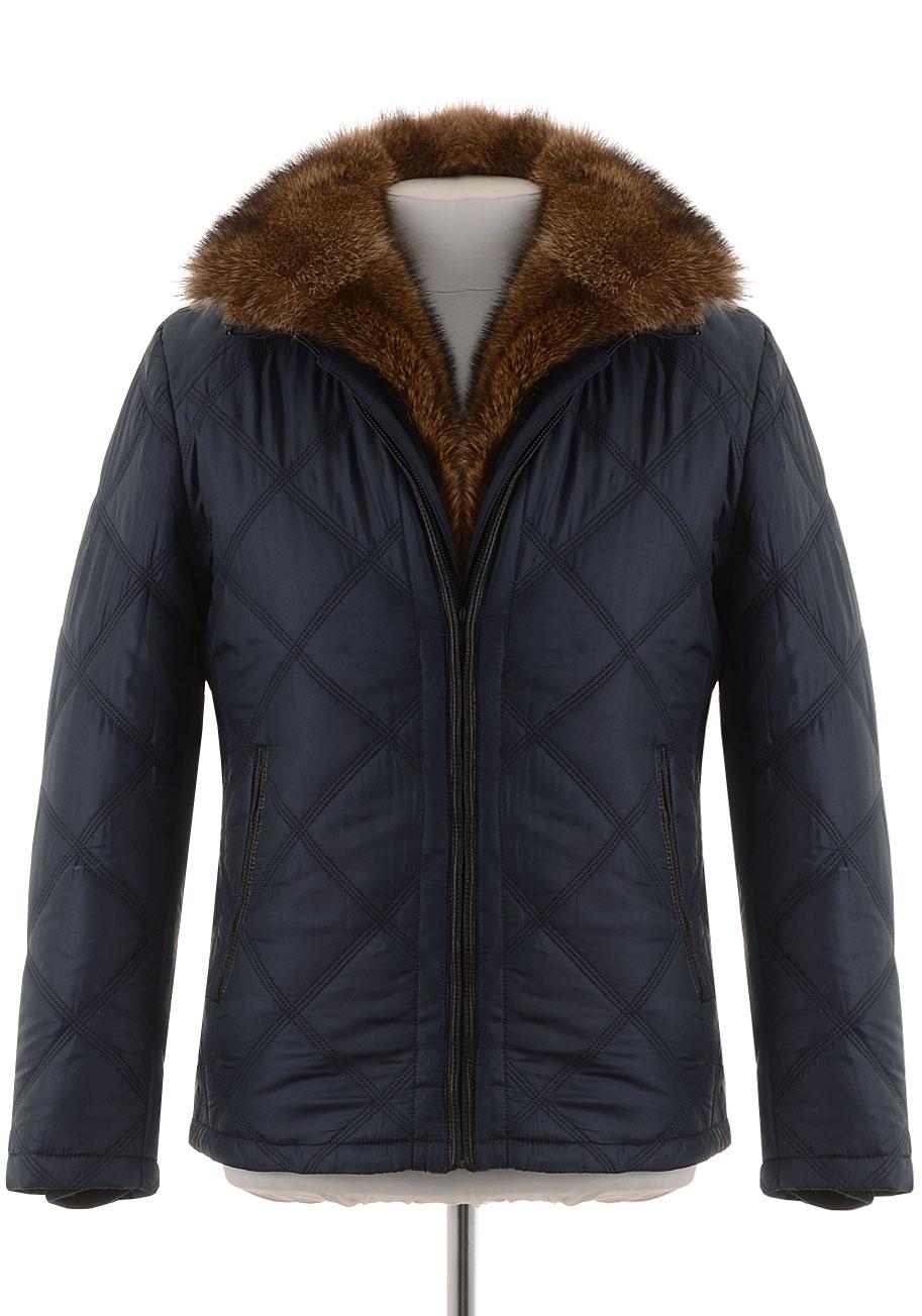 Мужская зимняя куртка на верблюжьей шерсти VD-07097