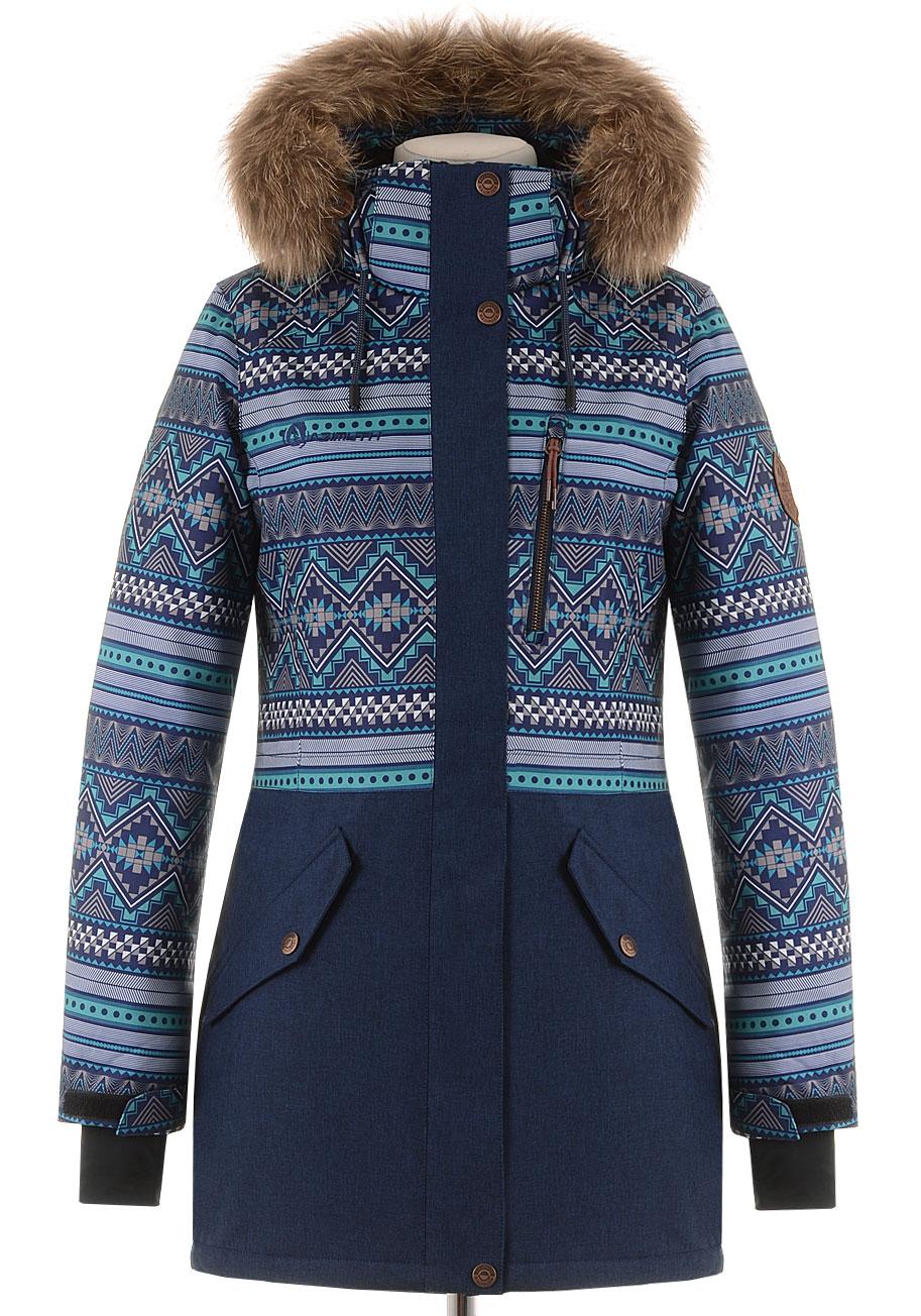 Спортивная удлиненная куртка AMT-188563